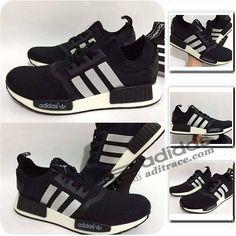 Adidas NMD_R1 Primeknit Prix Chaussure Homme Noir/Triple Argent Blanc :aditrace Adidas Nmd Primeknit, Adidas Nmd R1, Adidas Sneakers, Adidas Superstar, Shoes, Fashion, Adidas Shoes, Mens Shoes Uk, Black Man
