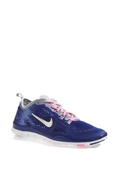Nike 'Free 5.0 Fit' Tie Dye Training Shoe (Women) available at #Nordstrom