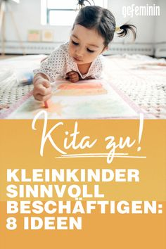 Employ toddler: 8 sensible ideas-Kleinkind beschäftigen: 8 sinnvolle Ideen Throughout Germany, daycare centers remain closed. Here you will find ideas on how to keep your toddler busy. Infant Activities, Family Activities, Baby Am Strand, Sensory Rooms, Parents Room, Mother And Father, Feeling Happy, Parenting Hacks, About Me Blog
