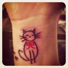 my cat tattoo