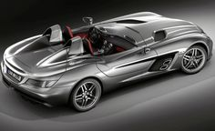 Mercedes Benz SLR McLaren Stirling Moss, only 75 will be build by hand.  2009