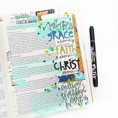 #gratitudedocumented day 15 - salvation. It's almost too big for words - isn't it?! #wowGod #illustratedfaith #amen #biblejournaling #30daysofgratitude #thankful #bible #mixedmedia #journaling #gratitude #if_athankfulheart #dayspring #bellablvd