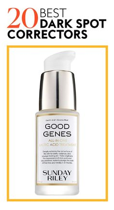 Including serums, creams, and peels with dermatologist-approved ingredients. #selfcare #selfcaregifts #wellness #beauty #wellnessgifts Best Dark Spot Corrector, Good Genes, Even Out Skin Tone, Uneven Skin, Spot Treatment, Winter Beauty, Acne Prone Skin, Skin Brightening, Acne Scars