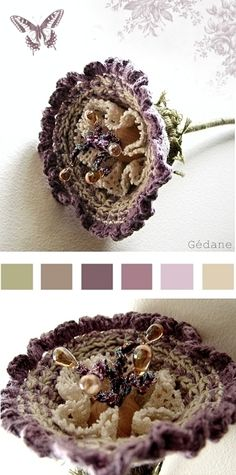 .love this site!  Use google translate!  Thanks for sharing! crochet flowers @Af's 8/4/13