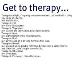 my friend litterally told me i need therapy, and i was like sure whatever. this truly confirms i NEED therapy.
