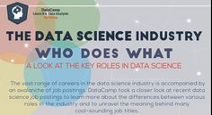 Who Does What in datascience [Infographic]:: The vast range of careers in the datascience industry is accompanied by an avalanche of job postings. Here is a closer look at recent datascience job postings to learn more about the differences between various roles in the industry and to unravel meaning behind many cool-sounding job titles. .. http://www.7wdata.be