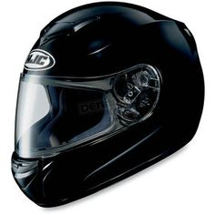 HJC CS-R2 Black Helmet - 208-603  Harley Motorcycle  Goldwing