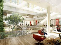 New Hospital Hvidovre Extension Winning Proposal / Schmidt Hammer Lassen Architects