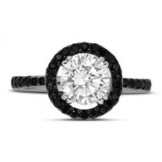 2-carat-round-black-and-white-halo-engagement-wedding-ring-for-her.jpg (250×250)