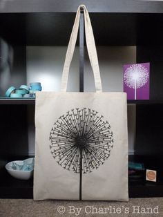 'Dandelion Clock' Tote Bag