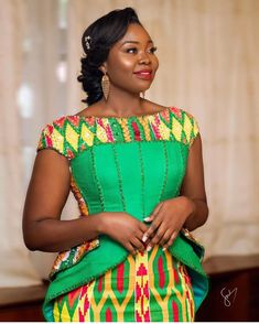 Kente Outfits For Cute Couples And Lovers - Sisi Couture Latest African Fashion Dresses, African Print Dresses, African Print Fashion, Africa Fashion, African Wear, African Dress, African Women, African Attire Patterns, Women's Fashion