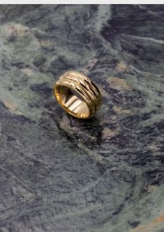 A wide cigar band style layered ring with a high gloss finish. Choose between 925 sterling silver or 925 sterling silver plated with 18 carat gold. Bold Rings, Cigar Band, Carat Gold, Accessories Shop, Precious Metals, High Gloss, Saga, Silver Jewelry, Rings For Men