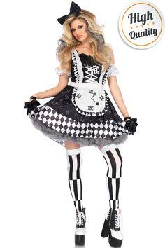 Alice in Wonderland halloweenkostuum. #carnavalskleding