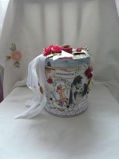 Geldgeschenk  Hochzeit  Geschenkschachtel von Plan B auf DaWanda.com