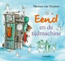 """Mijn recensie (★★★☆☆) over """"Eend en de tijdmachine"""" van Harmen van Straaten   Eend heeft een tijdmachine uitgevonden; hij nodigt zijn vrienden uit om met hem een reis door de tijd te maken.   http://www.ikvindlezenleuk.nl/2015/02/harmen-van-straaten-eend-en-de-tijdmachine/"""
