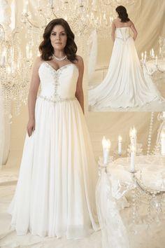 plus size wedding dress, plus size, callista bridal