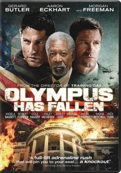 Olympus Has Fallen - extremely realistic, intense movie about North Korea taking over the U.S...almost too much for me. Let's just say there's a reason why it's rated R.