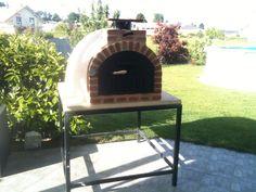 Desde este momento la familia Linares disfrutara de sus mejores momentos en su horno de leña colocado por Alfareriaduero