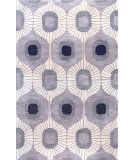 Add a pop of pattern to your living room or den with this hand-tufted wool rug, showcasing an ogee motif in grey. Grey Curtains, Textiles, Contemporary Area Rugs, Modern Rugs, Hand Tufted Rugs, Wood Bridge, Deco Design, Grey Rugs, Blue Rugs