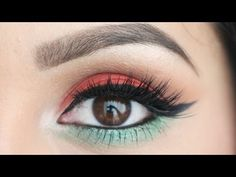 Urban Decay Electric Palette Tutorial: Tropical Eyes