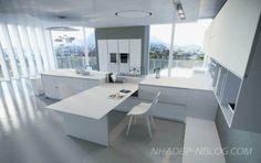 Nhà bếp đẹp với thiết kế không gian mở