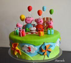 Manoneta's life: FOOD #13- Le gâteau Peppa pig