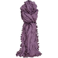 Pom-pom scarf from Paper Source. This would be easy to make...