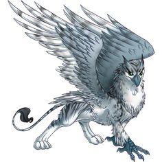 Calliste Mythical Creatures Art, Mythological Creatures, Magical Creatures, Griffon Tattoo, Greif Tattoo, Dragons, Manga Dragon, Fantastic Beasts, Illustrations