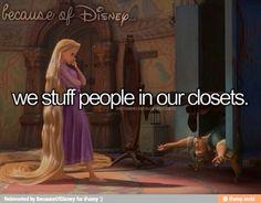 Because of Disney.