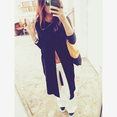 Fashion style blogger. Daily look  . Black. Instagram : @pinstyleblog