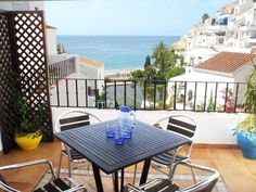 Nerja Sea & beach view from terrace