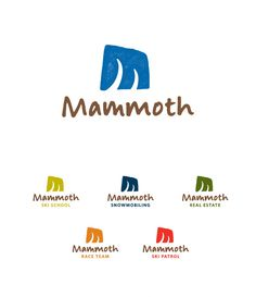 Mammoth Mountain Logo Design