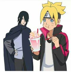 Sasuke and boruto