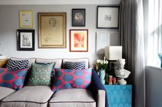 House Tour: Vintage Glam Meets Hygge London Flat | Apartment Therapy