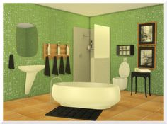 Sims 4 CC's - The Best: Ebba Bathroom Set by KSimbleton