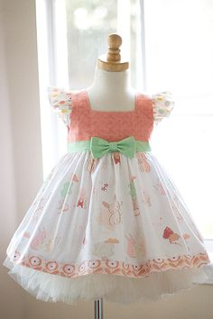 Sweet Bunny Dress - Kinder Kouture #kinderkouture #easter #kidsfashion