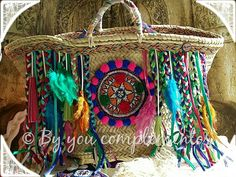 Capazo Multicolor.  #Capazo #Multicolor