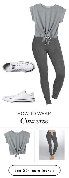 Designer Clothes, Shoes & Bags for Women Lazy Day Outfits, Tomboy Outfits, Urban Outfits, Cool Outfits, Casual Outfits, First Day Of School Outfit, Outfits With Converse, Comfy Clothes, Kinds Of Clothes