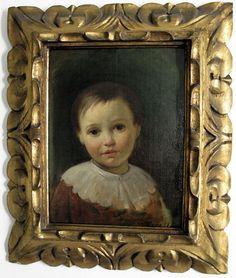 Fanciullo, collezione privata, Raffaele Casnedi, pittore