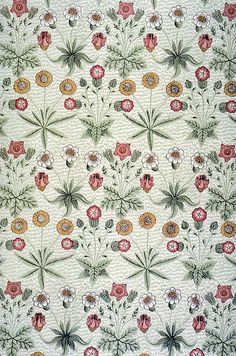 Daisy wallpaper by William Morris