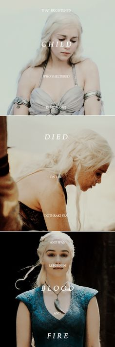 Daenerys Targaryen: This dragon queen who wears her name is a true Targaryen. #asoiaf