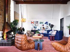 Home Decor Cozy art deco living room.Home Decor Cozy art deco living room Vogue Living, Flack Studio, Brick Hearth, Art Deco Living Room, Terrazzo Tile, Decor Scandinavian, Interior Minimalista, Cheap Home Decor, Home Buying