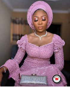 35 Elegant Lace Aso-Ebi Styles To Inspire Your Next Owambe Outfit - photo