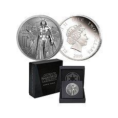 2016 Star Wars 1 oz. Silver $2 Proof Coin - Darth Vader