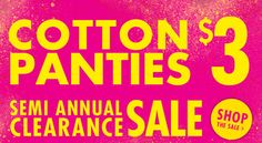 La Senza Canada Semi Annual Clearance Sale: Just $3 Panties, Up to 70% OFF Sexy Bras, Lingerie & Womens Fashion Deals & More!