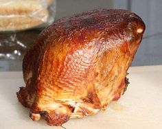 smoked juicy brined turkey