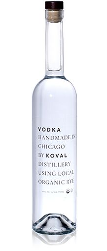Koval Vodka Packaging Design