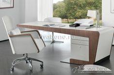 peonia desk walnut with cantilevered top - Office table - Home Office Office Cabin Design, Modern Office Design, Office Furniture Design, Office Interior Design, Office Interiors, Home Interior, Office Designs, Office Ideas, Contemporary Furniture