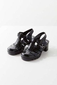 cee8e1e4c17 Slide View  1  Juju Footwear Babe Jelly Heel  JellyShoesPlatform Knee High  Boots Sale