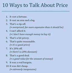 Because everyone likes shopping, and buying is an inevitable part of life, we often talk about price ...